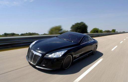 迈巴赫exelero还不是最贵的车据说金跑车号称价值28.
