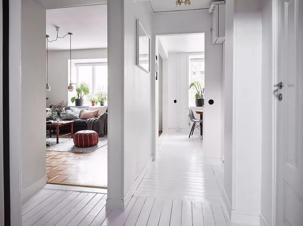"""北欧""""性冷淡""""风格,也能打造出暖心的家图片"""