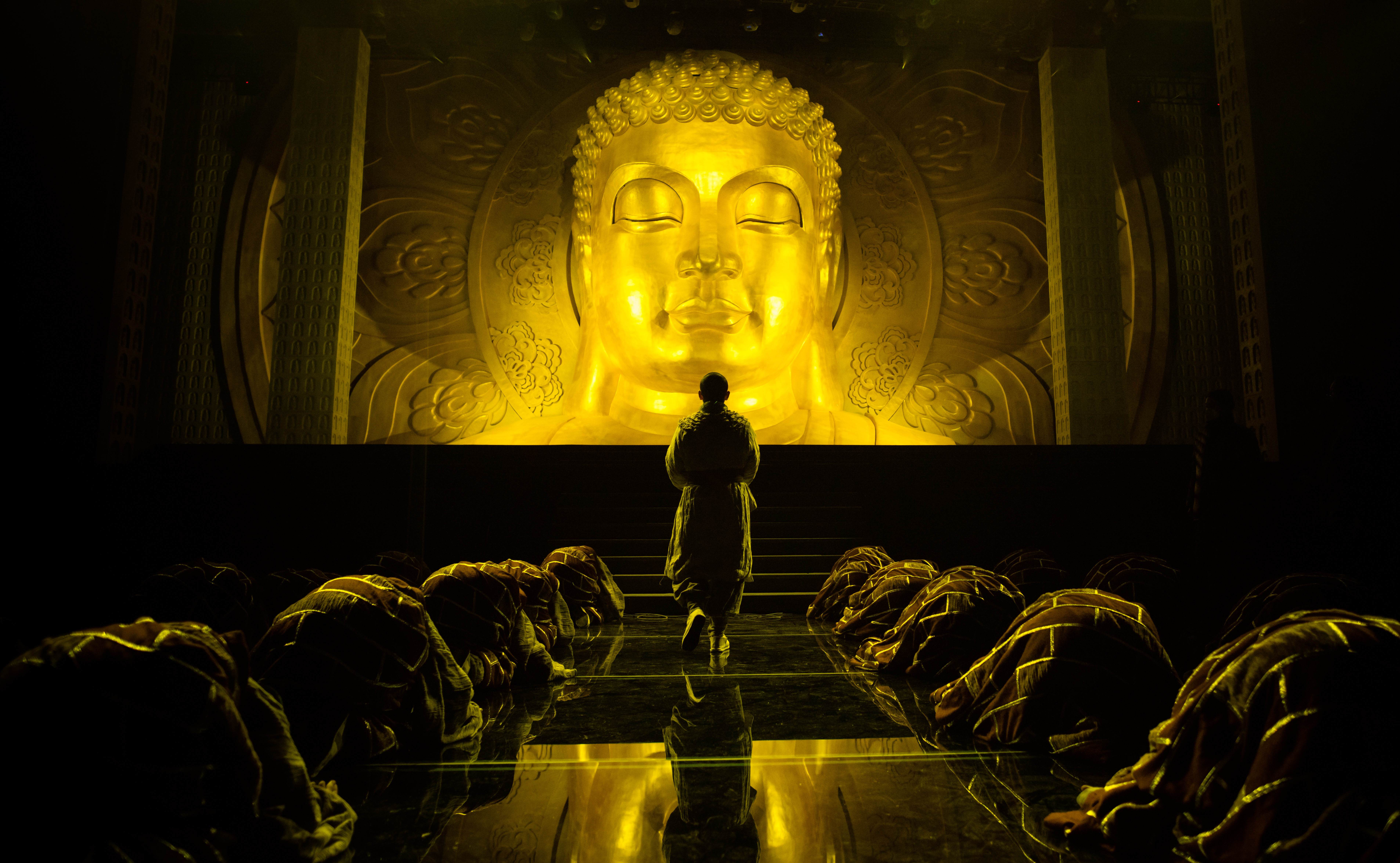 佛-中国实景演出形式 从 开创 到 走出去