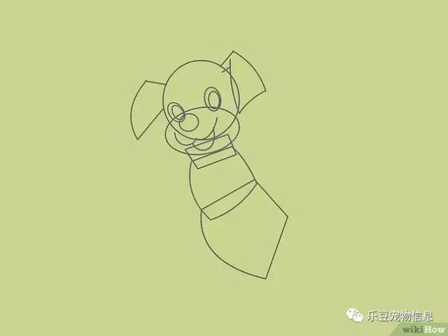 你也可以做画家,教你简单几笔画出漂亮狗狗 收藏