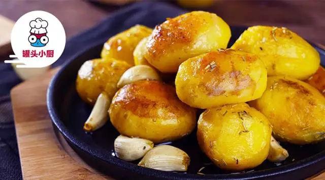 秘制迷迭香烤土豆 绝对零差评的土豆吃法