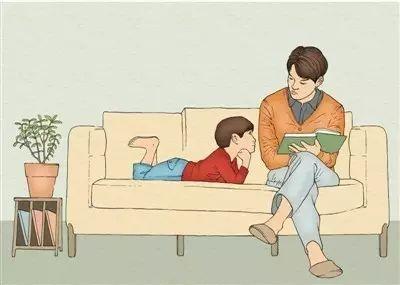 母亲背影手绘 漫画