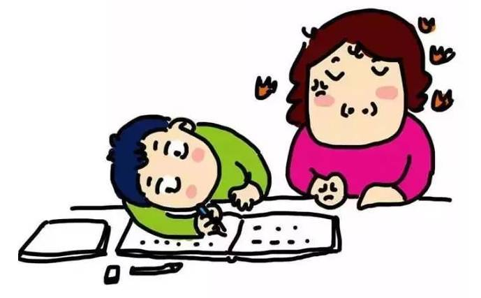 陪娃写作业-学会这2个秘笈,妈妈们再也不用怕陪孩子写作业啦图片