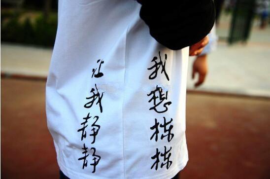高三毕业班服 高中毕业班服图案标语设计【t社】