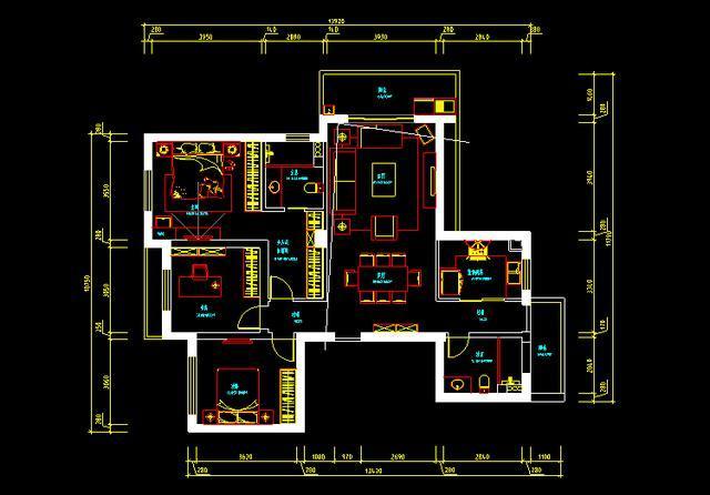 38套完整家装cad施工图纸,外加施工图设计小知识!