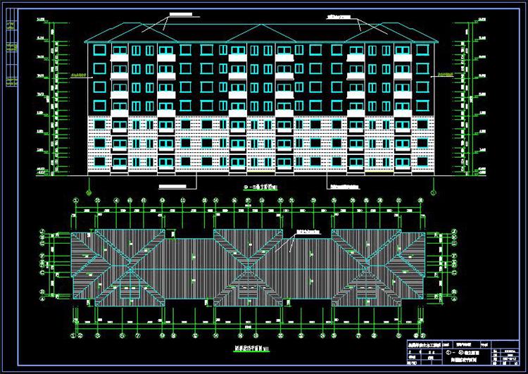 七层住宅楼土木工程毕业设计学习参考