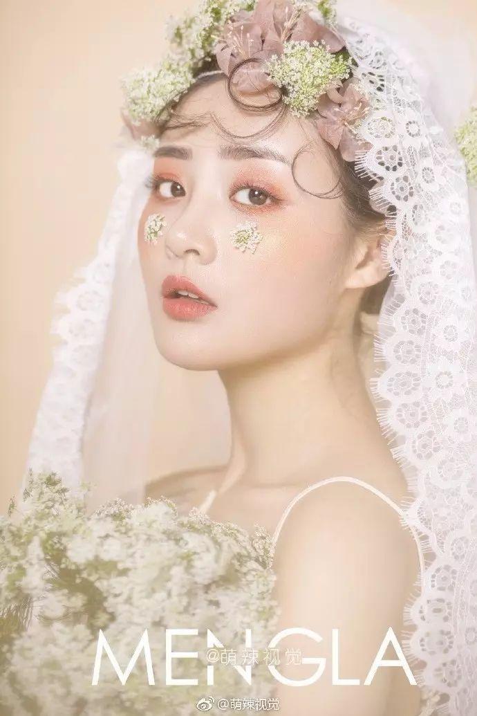 清新浪漫森系新娘造型,仙范儿十足图片