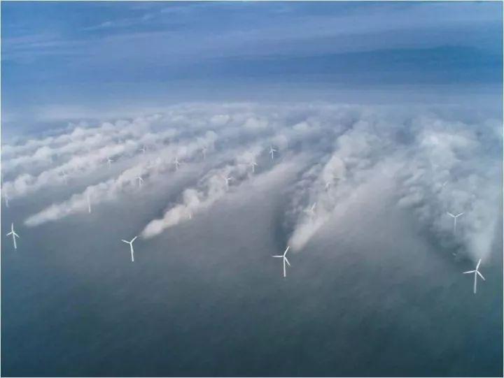 风_智库  大型海上风电场尾流模型及大气稳定度影响研究
