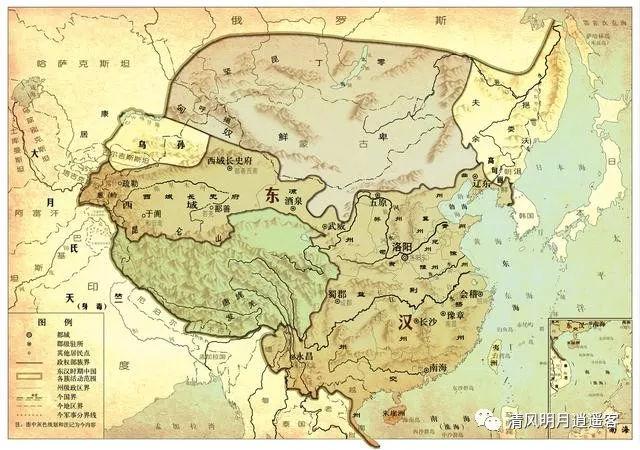 南越国版图_中国20个朝代版图演变大集锦,收藏了