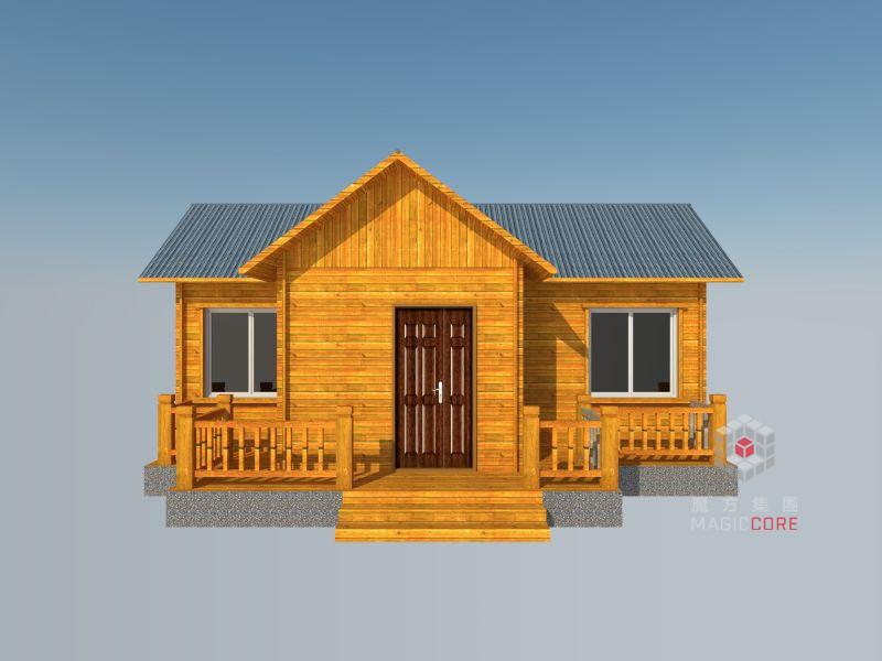 轻钢别墅的地基与传统的砖混结构房屋的地基建造方法一致. 3.