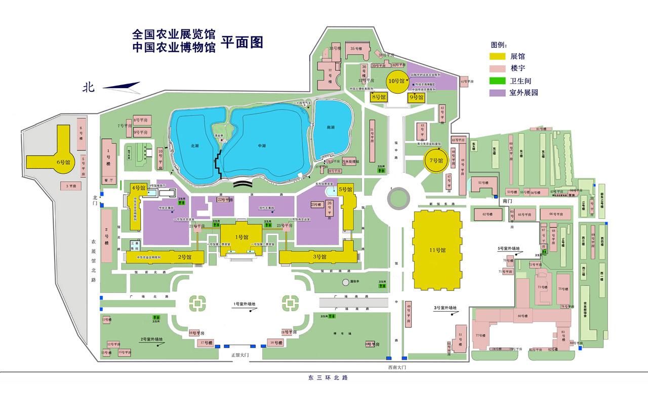 北京潭柘寺总平面图