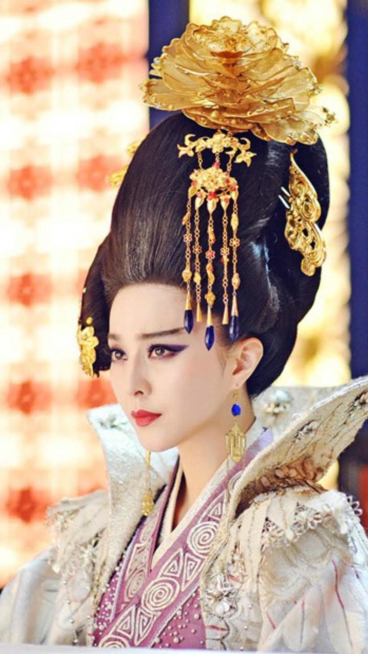 古代女子发型比这更奇葩!