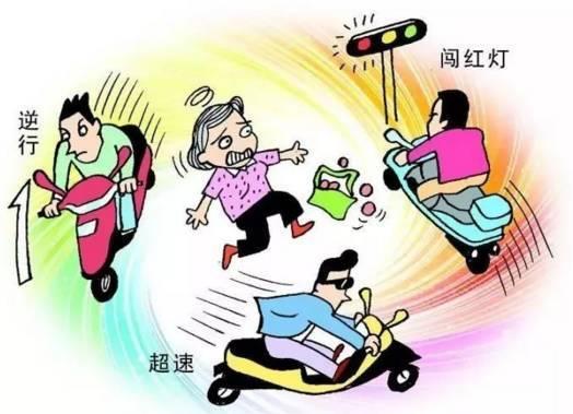 车祸gif动图:妙龄女子骑电动车马路随意穿行,结果惨遭致命一撞!