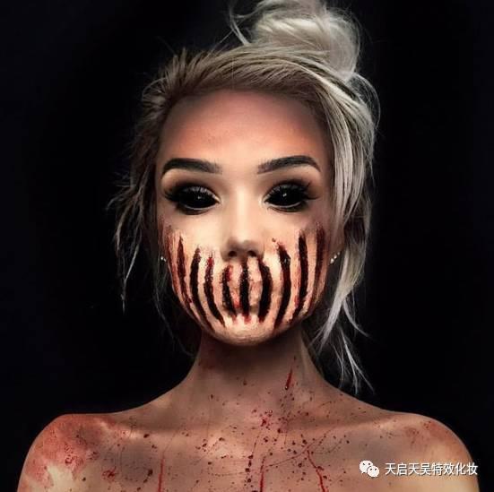 万圣节的超酷特效化妆妆面攻略 | 这前奏一响,妖魔鬼怪全都出来了图片