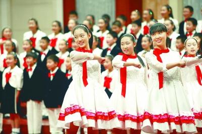 京津青少年共唱中国梦