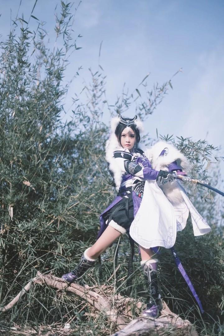 剑三萝莉cos_剑网三 霸刀萝莉 cosplay