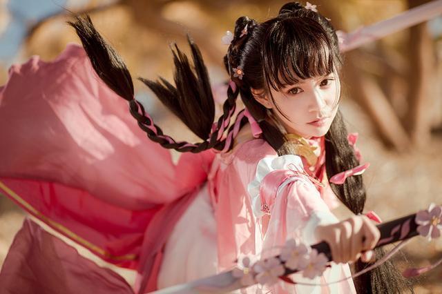 剑三萝莉cos_有侠气的帅气萝莉!《剑网三》儒风七秀的cosplay欣赏