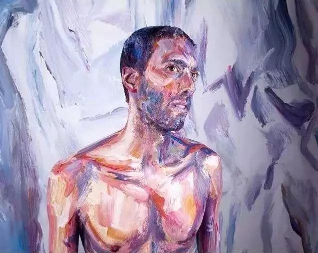 你以为这是一幅画?会动的人体艺术!