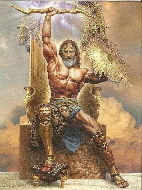 古希腊神话故事 神王宙斯图片