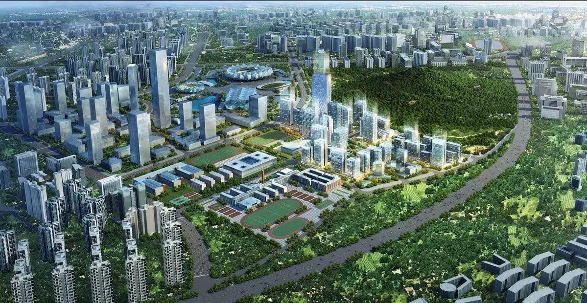 商核深港与智核启迪助力深圳东部cbd核心圈的繁荣,打造启迪协信科技图片