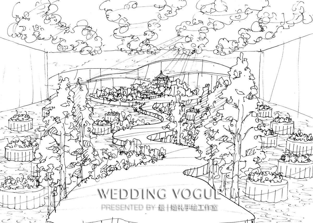 婚礼策划以及手绘设计经验,所以在教学上,他们能从实际现场角度出发