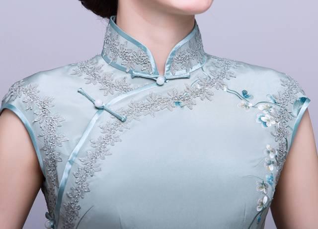 你知道旗袍的花纹里,都蕴含着什么美好的寓意么?