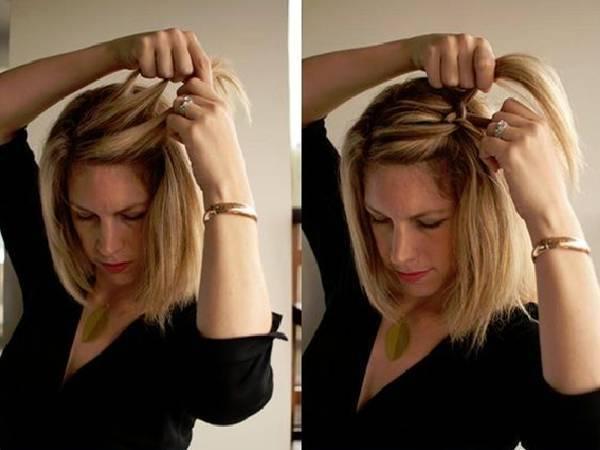 辫子发型扎发图解 辫子的编发大全有图