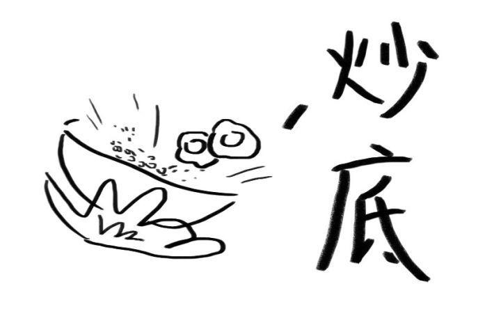 主食简笔画