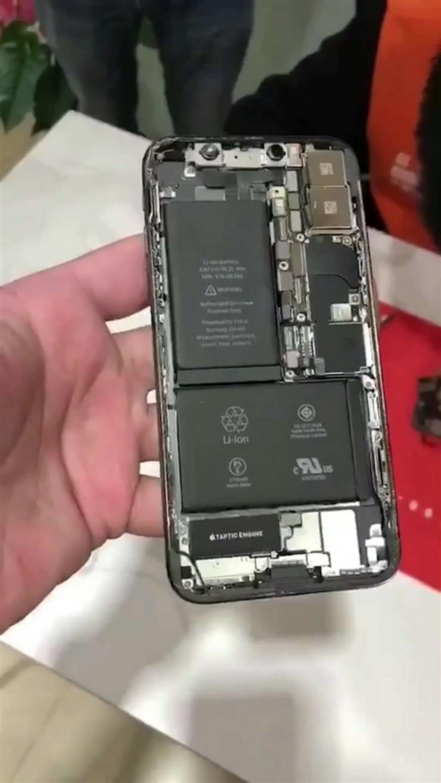 抽愈9.'z(�9.l��j_pcb主板面积也小了很多,差不多只有iphone 8 plus的一半