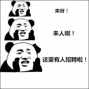 招聘三连↓图片