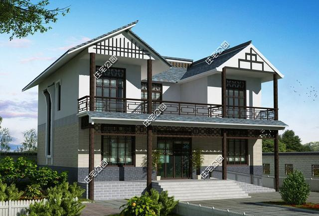 新中式农村别墅户型最近比较受欢迎,尤其是喜欢传统中式三合院,四合院