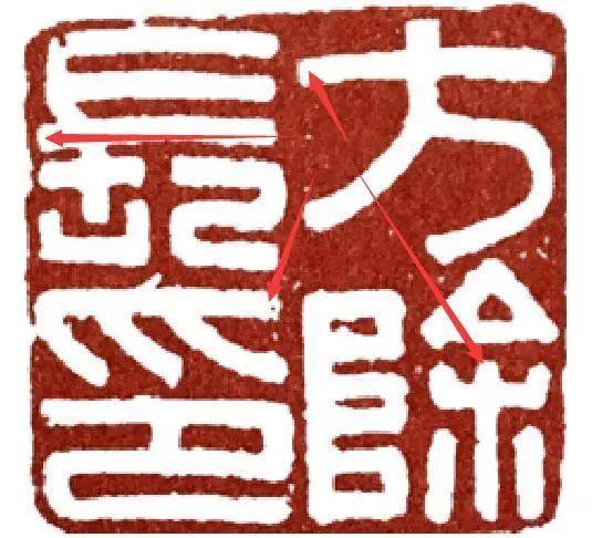 汉印作业第103方 说说篆刻临摹中笔画的收起笔