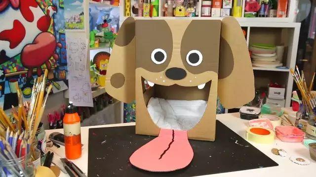 小猪纸箱手工制作