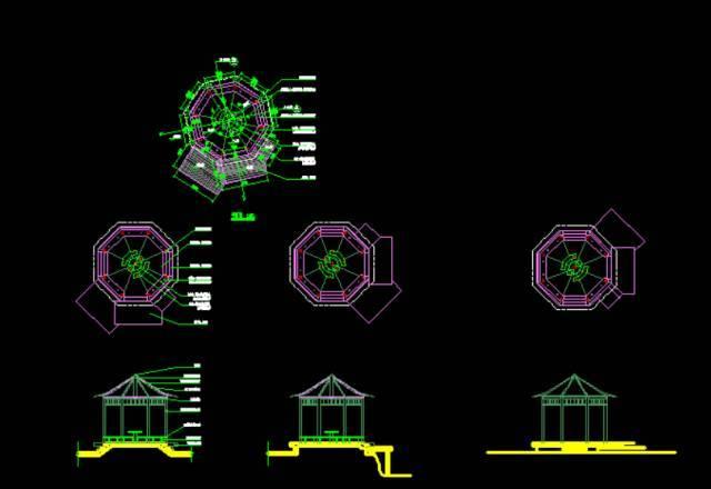 cad植物图例画法