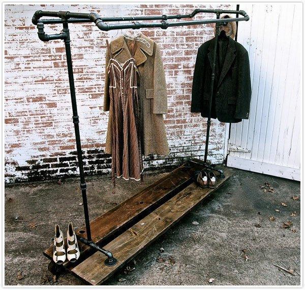 面对越来越多的衣服和有限的空间,为何不用diy衣架图片