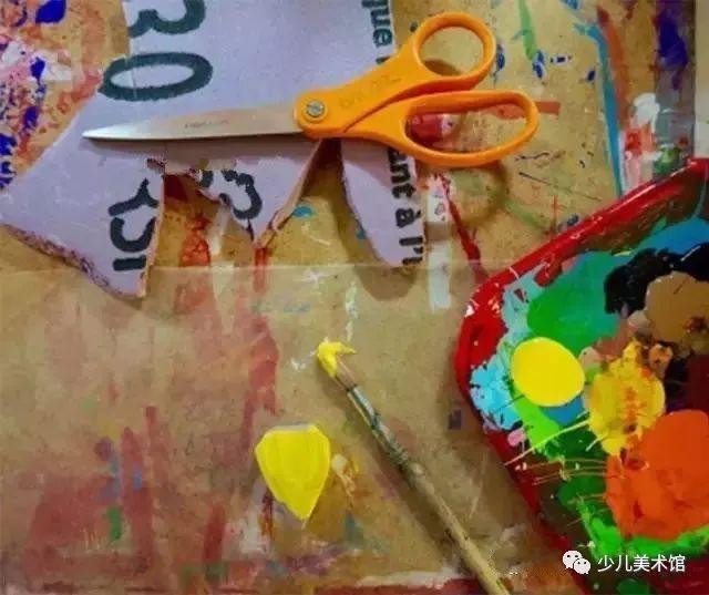 课程参考 儿童水粉画,给你不一样的色彩