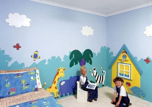 这么有创意又漂亮的手绘墙喜欢吗?