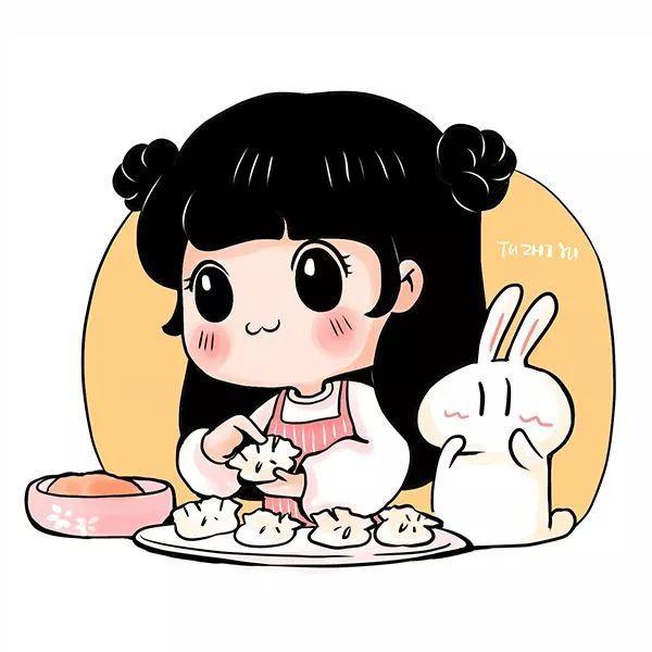 学包饺子让我很高兴,看着我包好的饺子,我觉得自己长大了.图片
