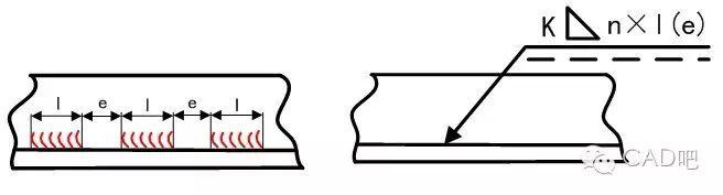 cad结构图纸符号大全