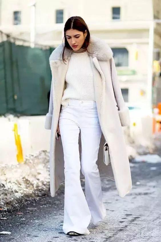 衣橱里没有白毛衣?那还怎么过冬啊!