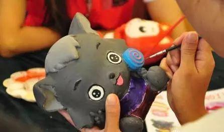 diy陶艺手绘