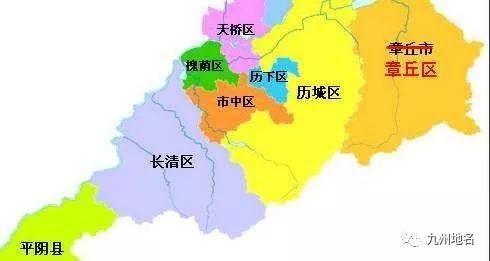 济南市行政区划示意图-关注 山东10地撤县设区9地在排队,下一个会是
