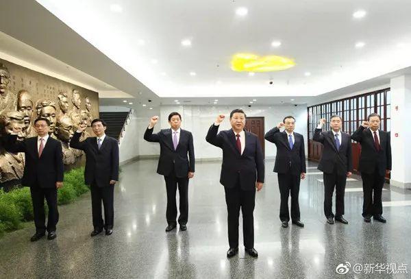 七常委从上海离开三天后