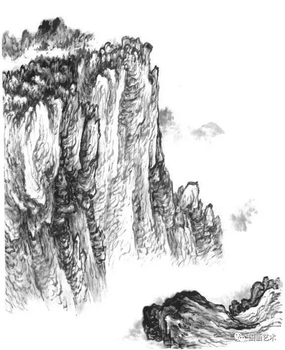 国画 简笔画 手绘 素描 线稿 579_711
