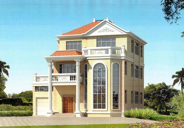 140平方三层别墅设计图