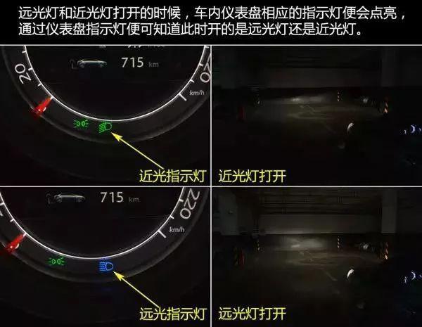 汽车远光灯和近光灯图解,错误使用车灯相当于谋杀!