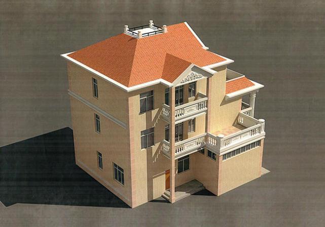 农村复式三层楼房设计图(全套方案 实体图)一起来瞅瞅