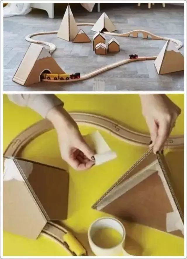 纸箱手工制作猫咪
