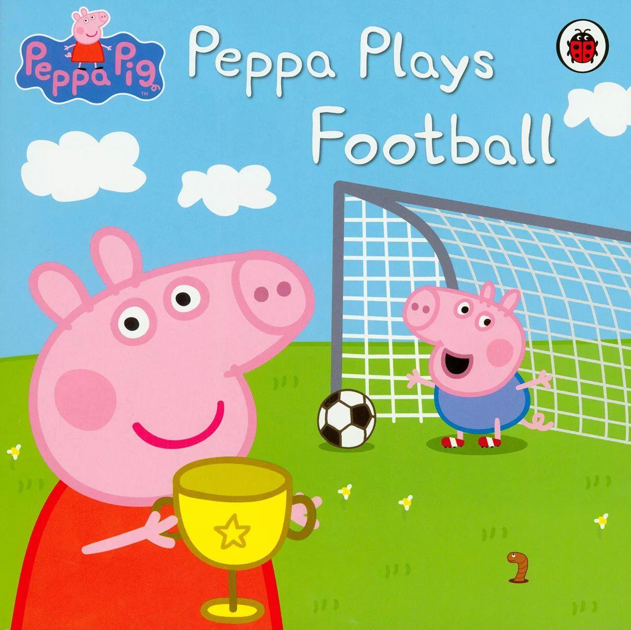 英文原版绘本,超级断货王 Peppa Pig 第一辑 给孩子最好的家庭教育,赠送正版抱枕玩偶 适合2 8岁