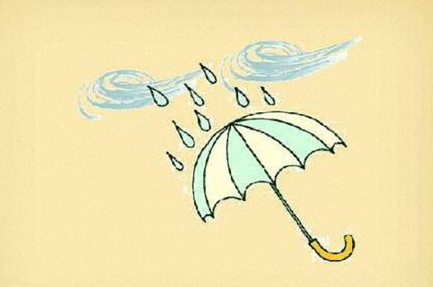 风雨猜成语一个_看图猜成语